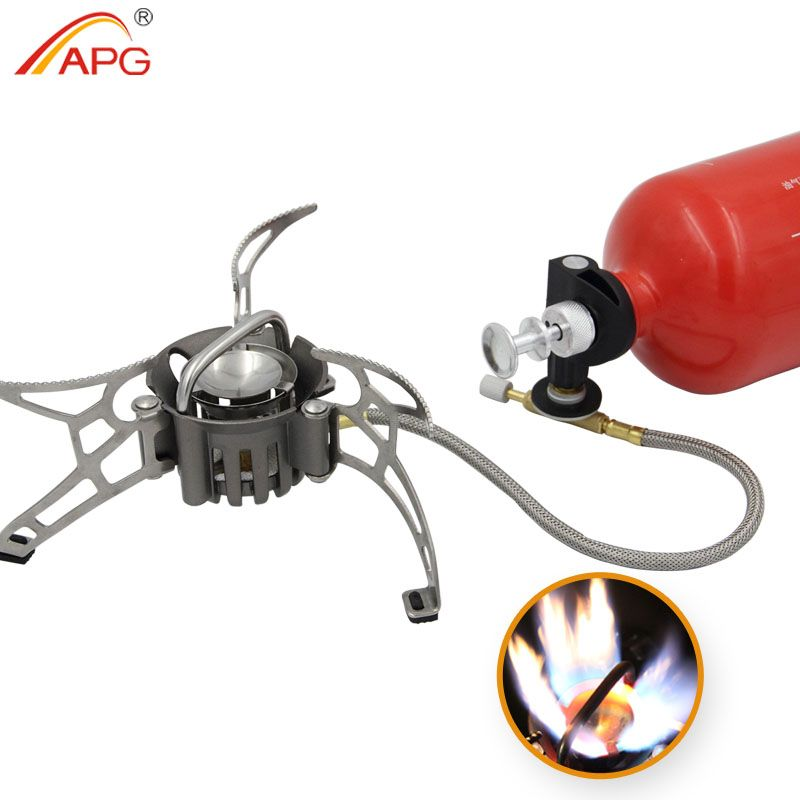 APG newest outdoor petrol stove burners and portable oil and gas multi fuel stoves