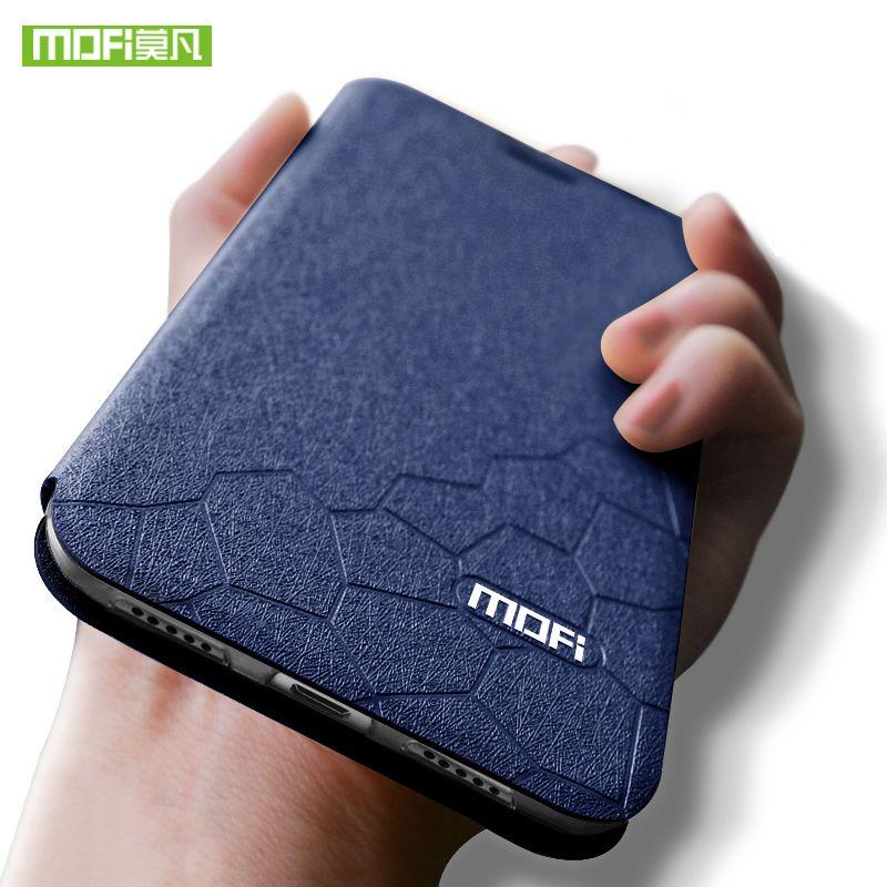 Mofi Pour xiaomi redmi note 6 pro cas couverture pour xiaomi redmi note 6 pro cas de silicium cas en cuir 6.26 pour xiaomi redmi note 6