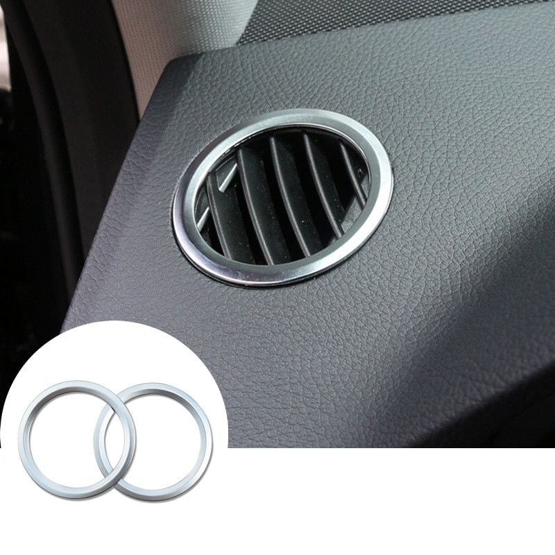 Inner Dashboard Side Air Vent Outlet Cover For Benz ML W166 2012-2015 GL X166 2013-2015 2pcs