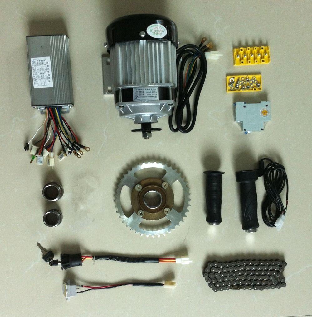DC 48 V 500 Watt bürstenlosen motor, elektrische fahrrad kit, elektrische Trike, DIY E-Dreirad, E-Trishaw Kit