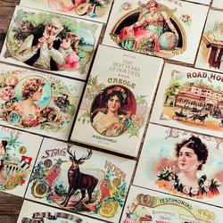 1 Pack 30 cartes Rétro Âge D'or Carte De Voeux Cartes Postales D'anniversaire Bussiness Carte-Cadeau Ensemble Message Carte