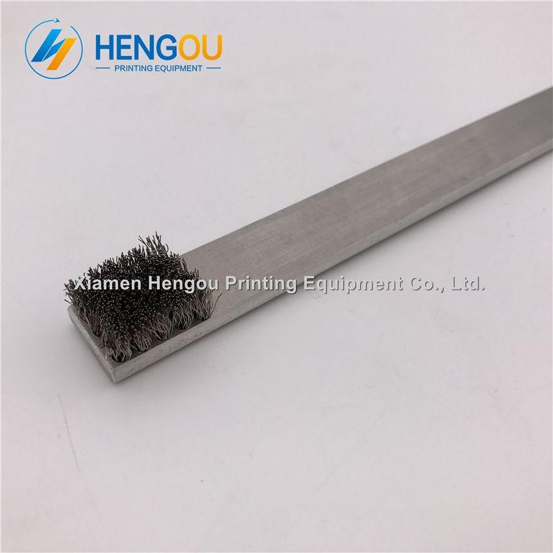 2 Pieces Heidelberg steel brush heidelberg metal brush 66.024.024 printing machine spare parts size 30x2cm