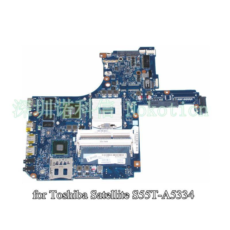 NOKOTION H000053270 Pour toshiba satellite S55 S55T-A5334 L50-A mère d'ordinateur portable 15.6 pouce GT740M