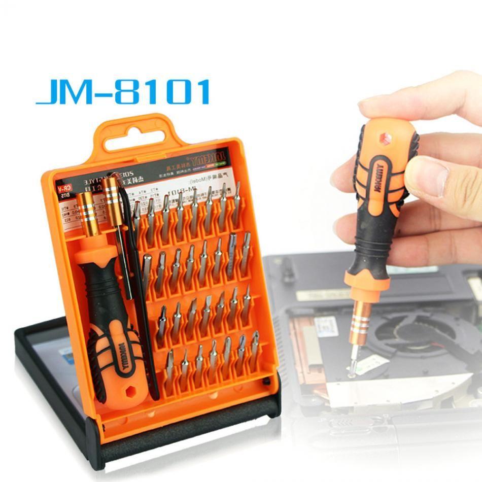 JAKEMY JM-8101 33 en 1 jeu de Tournevis De Précision Multifonctionnel Pour iPhone Ordinateur Portable Mini Électronique Bits Outils De Réparation Kit