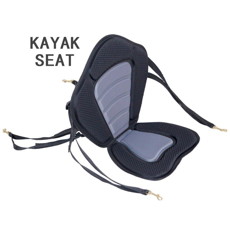 kayak seat 1.15kg inflatable kayak canoe inflatable boat backrest seat stand up paddle board adjustable dinghy raft A09001