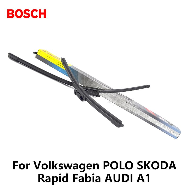 2pieces/set Bosch Car AEROTWIN Wipers Windshield Wiper Blades dedicated wipers For Volkswagen POLO SKODA Rapid Fabia AUDI A1
