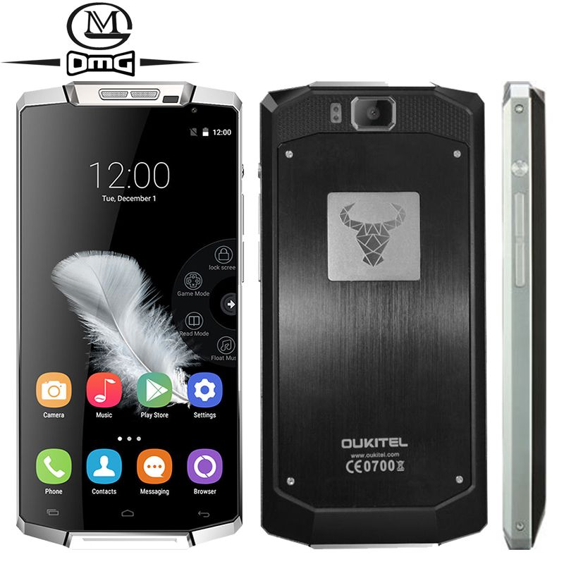 Original Oukitel K10000 MTK6735 Quad Core Smartphone 10000mAh Battery 2GB RAM Android 5.1 FDD LTE 4G 5.5 inch mobile cell phone