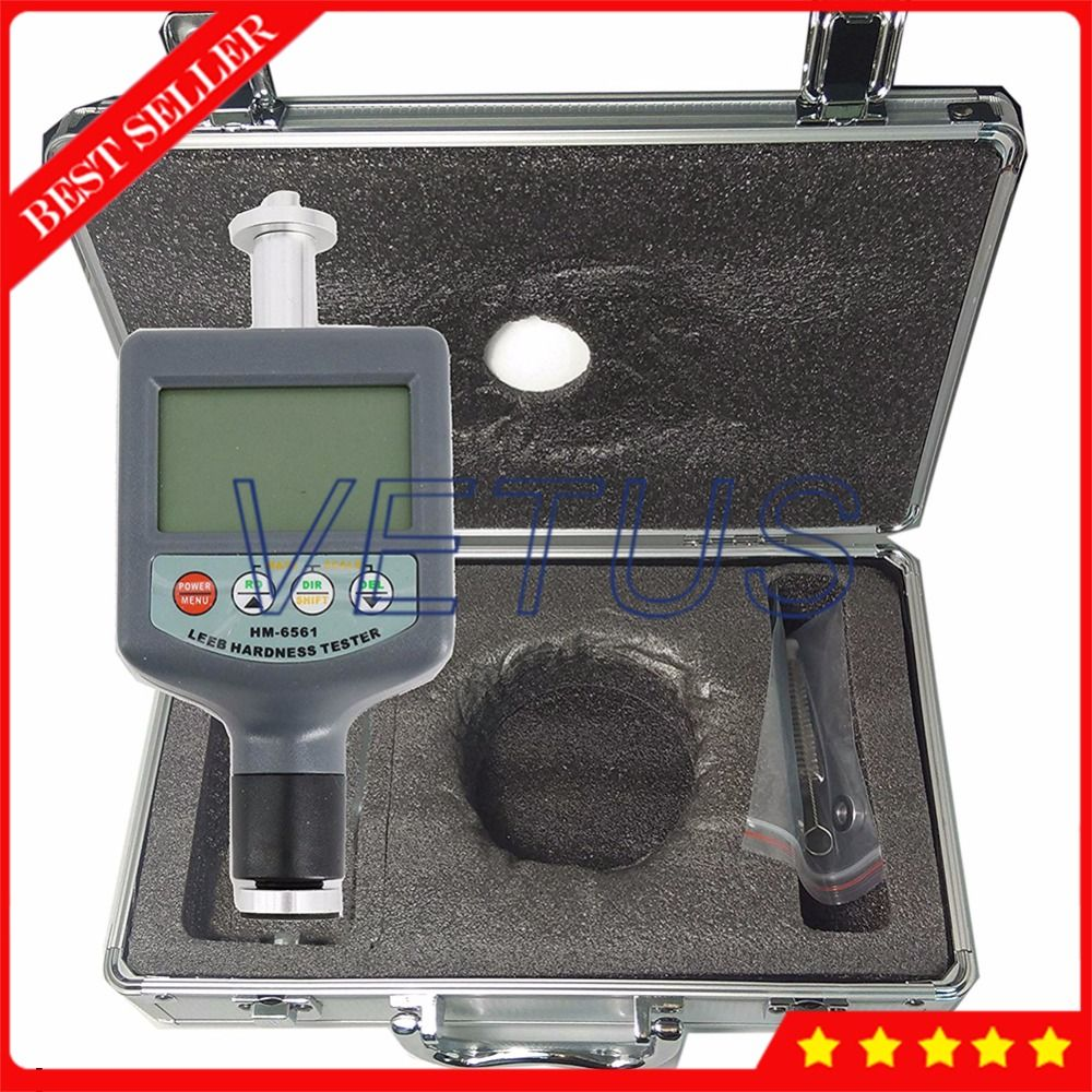 HM6561 200-900HLD Integrated Digital Durometer Portable Leeb Hardness Tester Meter without iron block