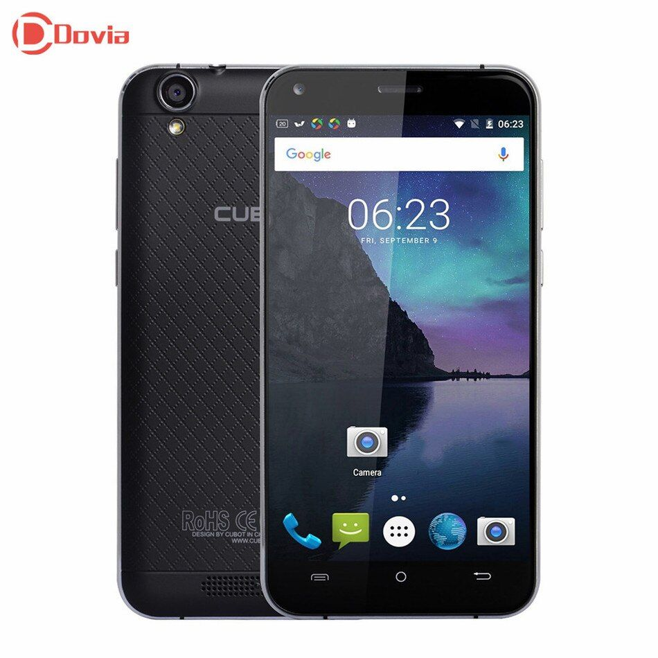 Clearance <font><b>Cubot</b></font> Manito 5.0 inch 4G Smartphone MTK6737 Quad Core 3GB RAM 16GB ROM 8MP Cameras A-GPS Accelerometer Mobile Phone