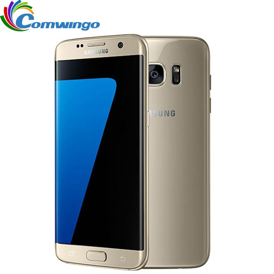 Original Unlocked Samsung Galaxy S7 Edge G935F / G935V 4GB RAM 32GB ROM Smartphone 5.5'' NFC WIFI 12MP 4G LTE Cellphone s7