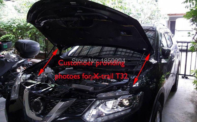 FOR 2014-2016 nissan QASHQAI J11/2014-2018 X-TRAIL T32 XTRAIL ROGUE BONNET HOOD GAS SHOCK STRUT LIFT SUPPORT ROD