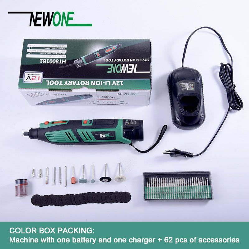 Lithium battery Dremel tool Variable Speed Rotary Tool Electric Mini Drill 6 speed grades with 13 accessories
