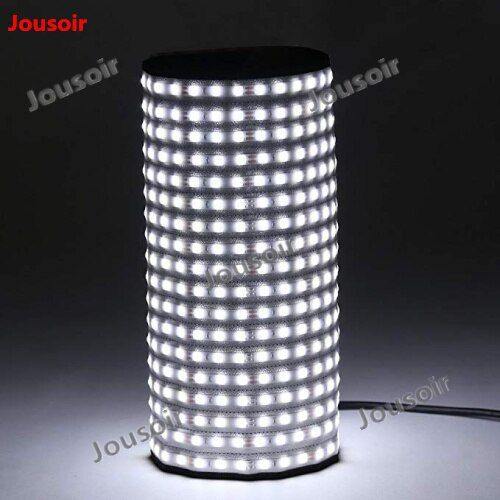 Falcon Eyes RX-18T Faltbare Rollbare Tuch LED Video Licht 504 stücke LED CRI93 Dünne Fotografie Füllen-in Licht Lampe für Studio CD50