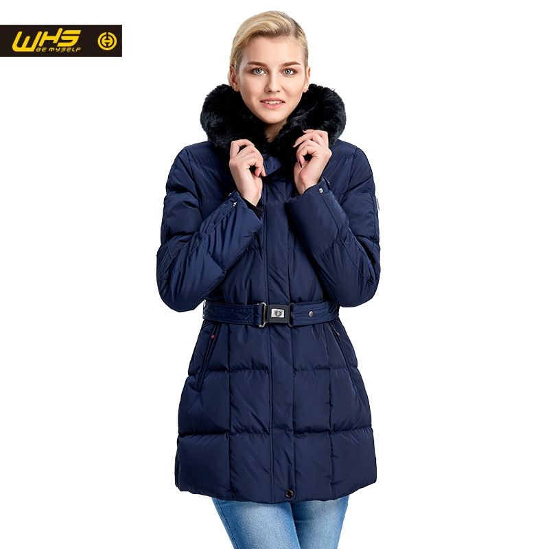 WHS Women cotton jacket in Winter ladies thick warm parkas long coat outdoor <font><b>female</b></font> hiking jackets womens big sales off