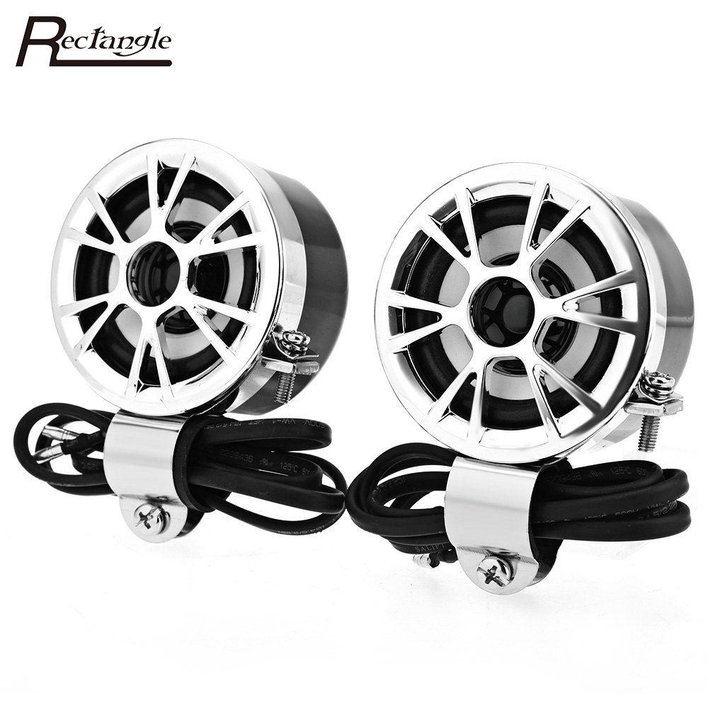 AV - M183 <font><b>Paired</b></font> Motorcycle Loudspeaker 2 Pcs Car HiFi Full Range Speaker Water Resistance with Universal Style Car Speakers