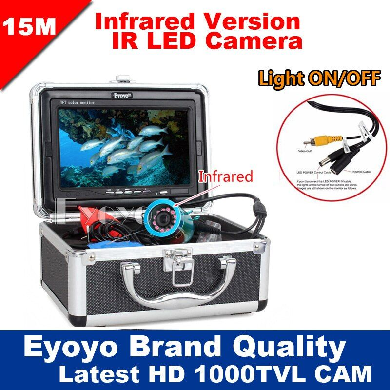 Eyoyo Original 15M Professional Fish Finder Underwater Fishing Video Camera 7