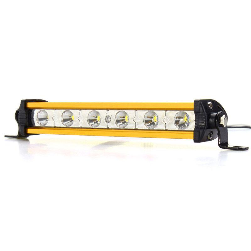 12V 7 inch 18W LED Work Light Bar Spotlight LED Work Car Lights Driving Offroad Lamp Waterproof For SUV Truck UTE ATV