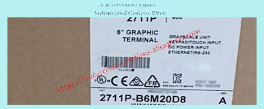 Neue 2711P-B6M20D8 2711P-K6M20D8 2711P-T6M20D8 industrielle steuerung HMI Touchscreen