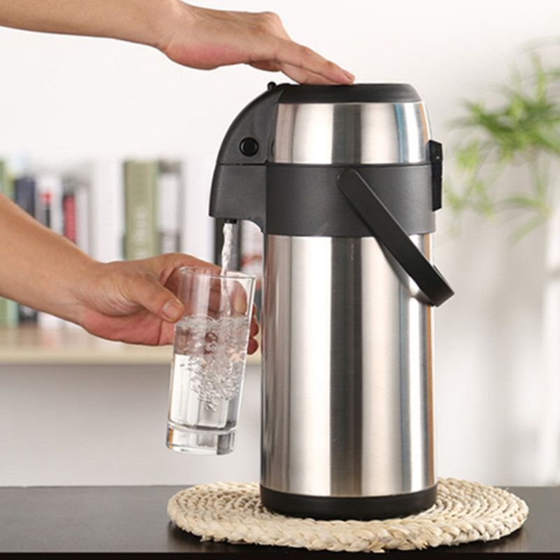 304 Stainless Steel insulated Thermos Bottle Thermo cup Coffee pot Thermal vaccum water kettle 3L,3000ml Vacuum Flask Thermal