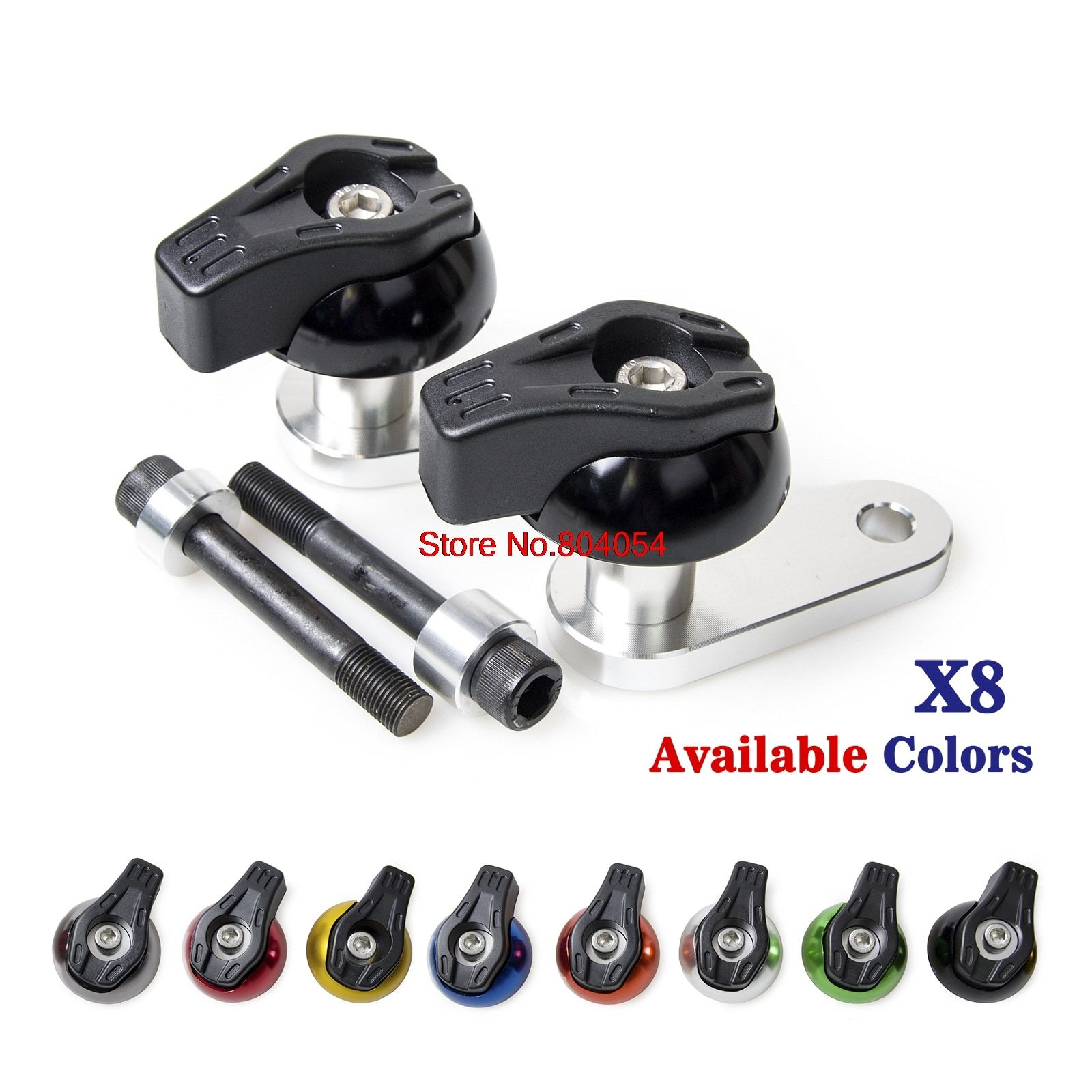 CNC Aluminium Frame Sliders Crash Pads Left Right For Honda CBR1000RR 2004 2005 CBR1000 RR CBR 1000RR 04 05 NEW