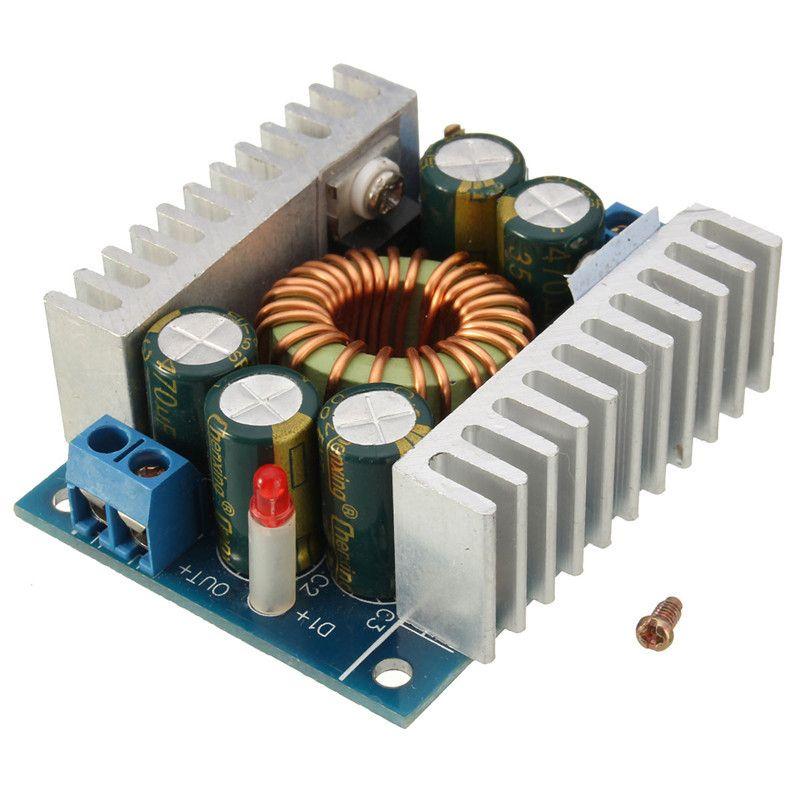 12A 100W up to 200W DC-DC Buck Step-Down 5-30V to 1.25-30V Laptop Car Led Converter Power Supply Inverters ConvertersModule