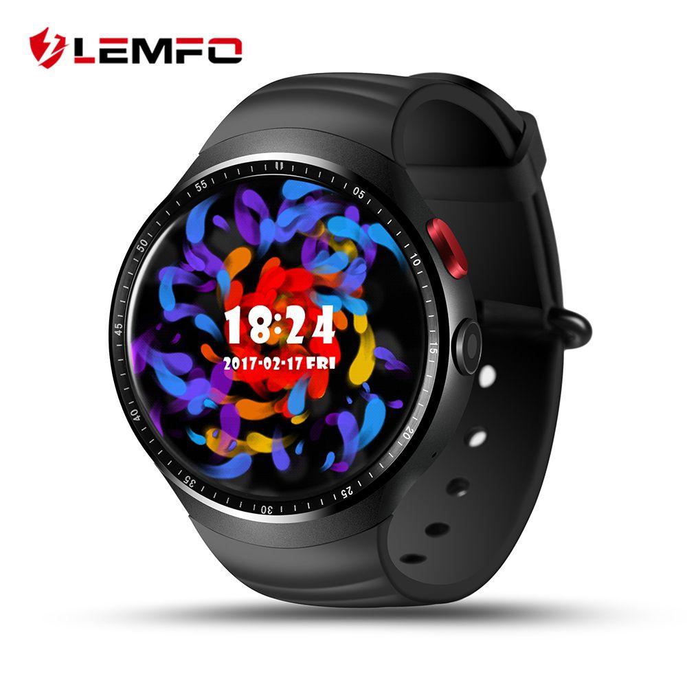 2017 NOUVEAU! LEMFO LES1 Bluetooth Montre Smart Watch MTK6580 1.39