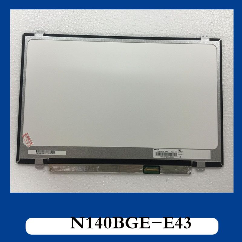Free shipping N140BGE-E43 N140BGE-E33 N140BGE-EB3 N140BGE-EA3 N140BGE-EA2 LP140WHU (TP) (A1)LP140WH2 TPS1 LTN140AT31 Edp 30 pin