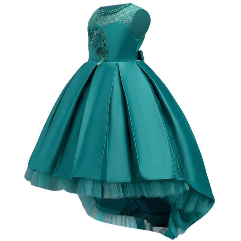 Elegant Flower Girls Dresses For Wedding and Party Dresses Kids Girls Princess Dress Children Clothing 4 5 6 7 8 9 10 11 12 Year