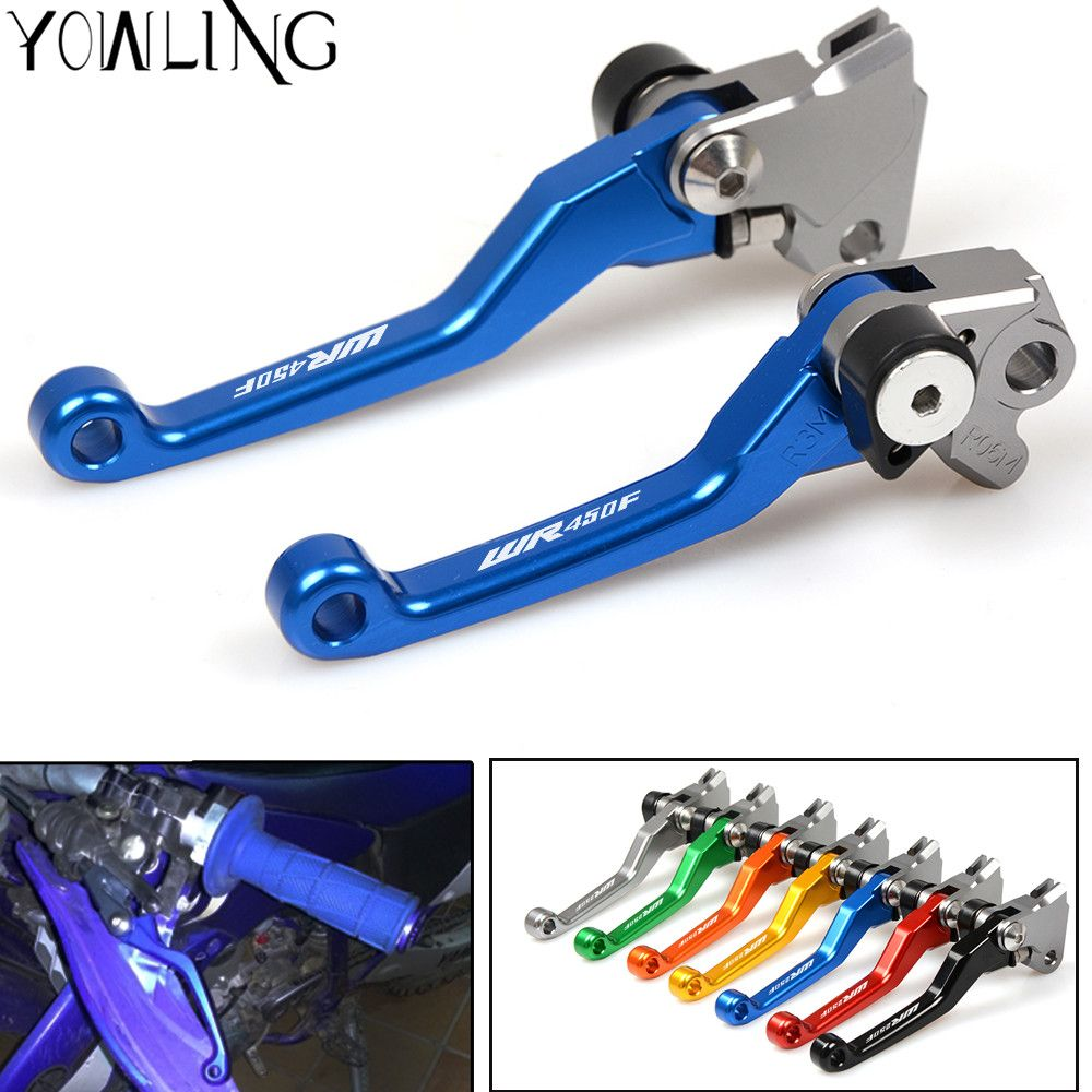 For Yamaha WR 450F WR450F 2001 2001 2002 2003 2004 2005 2006 - 2012 2013 2014 2015 Motocross dirt bike Pivot Brake Clutch Levers