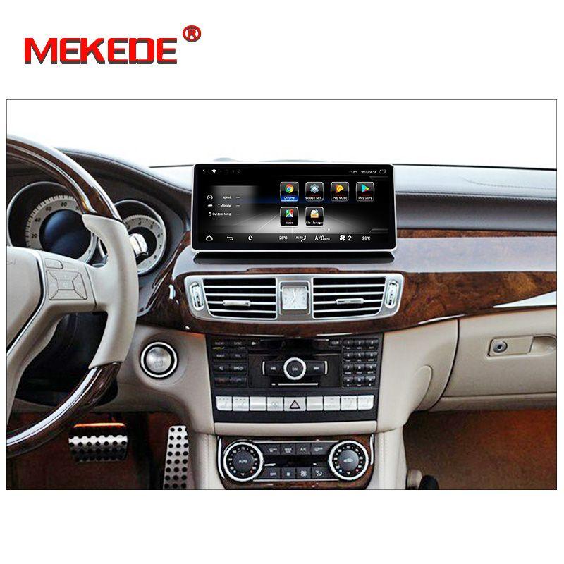 Freies verschiffen! android7.1 Auto stereo head unit navigation GPS NAVI DVD player für Mercedes Benz CLS Klasse 2011-2013 W218 4G LTE