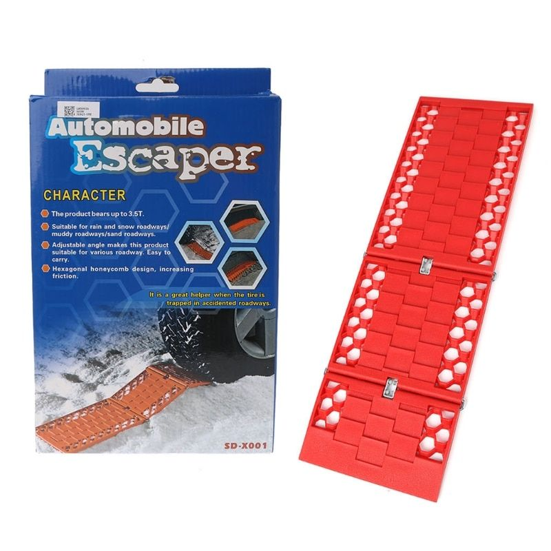 Tyre Grip Tracks Car security Snow Mud Sand rescue Escaper Traction Tracks Mats for Emergency relief solid firm durable