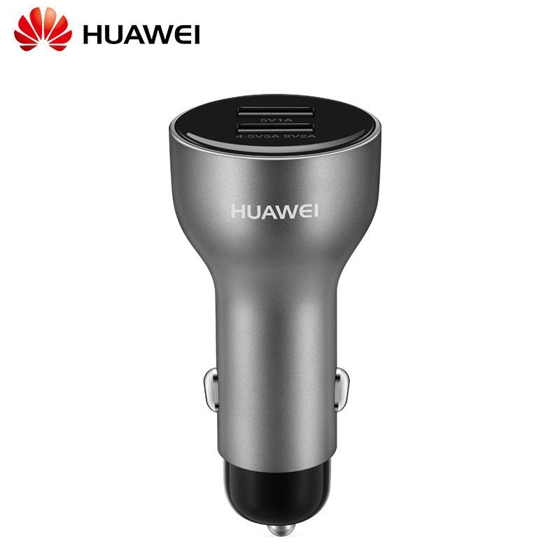 Original Huawei Car Charger SuperCharge Fast Charging Dual USB Port For Huawei Mate 9/mate9 Pro P10 Plus + mate9 Type C cable