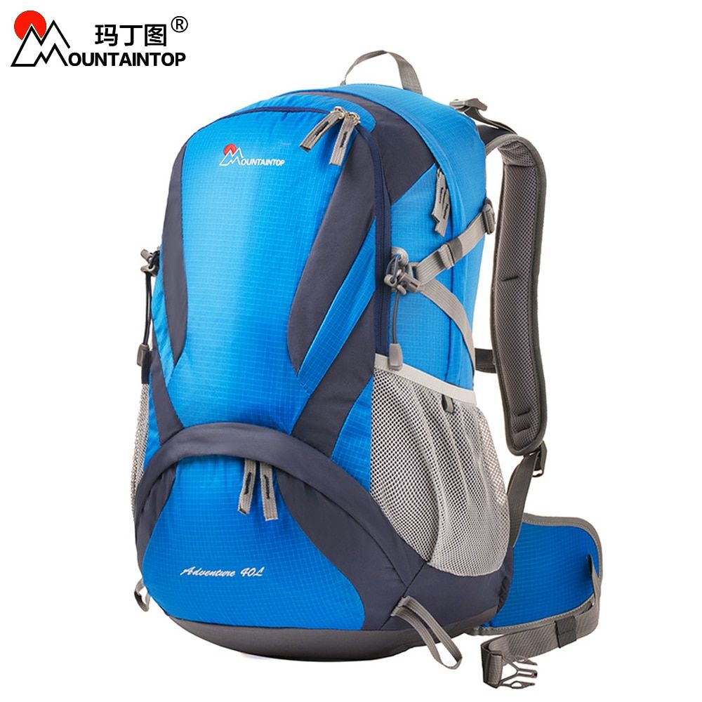 40l Excursion Internal Frame Climbing Bag TCS Carrying System Terylene Material Unisex Travel Camping Outdoor Sport Backpacks
