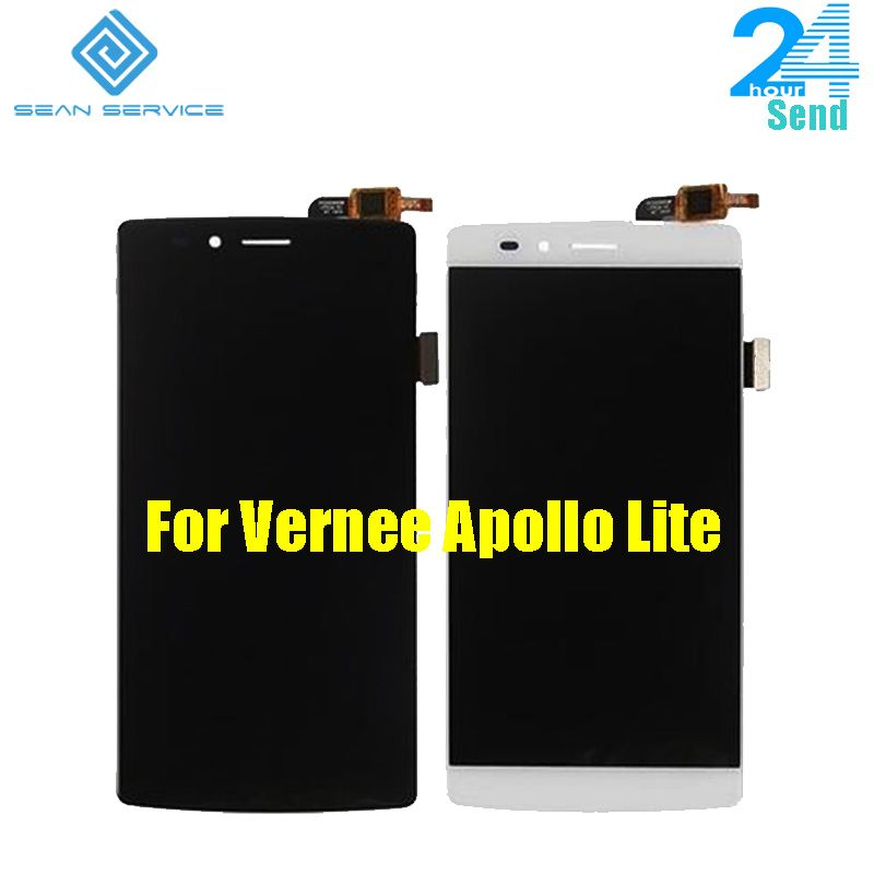 For Original Vernee Apollo Lite LCD Display and Touch Screen +Tools Digitizer Assembly Replacement 1920X1080P 5.5