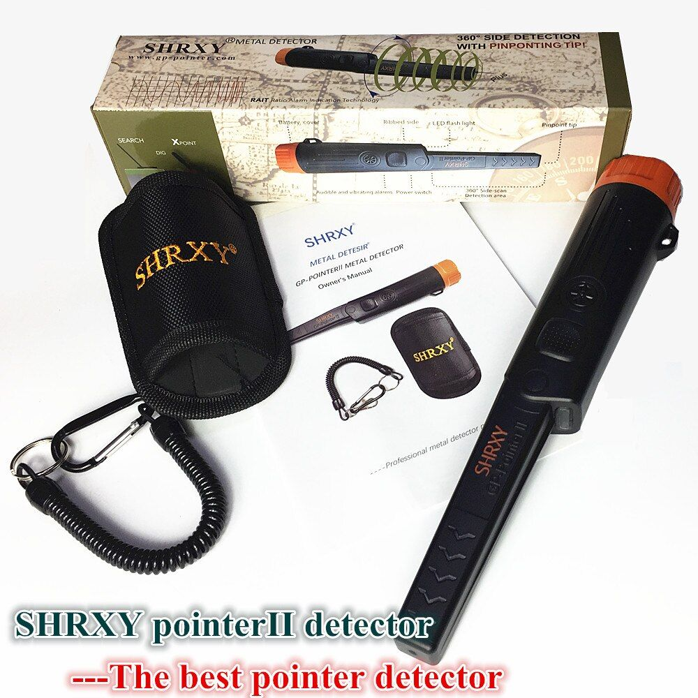2018 NEWST Sensitive GP-pointer Metal Detector Pronter Pinpointing Gold Detector Waterproof Static Alarm with Bracelet
