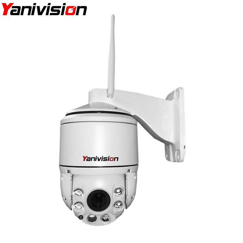 H.264 HD 960P 1080P PTZ Wireless WiFi IP Camera Outdoor 2.8-12mm Auto-focus Waterproof Security Camera WiFi Speed Dome SD Card