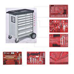 Multipurpose 229 unids Herramientas trolley set para la reparación del coche o el uso en almacén llave Set