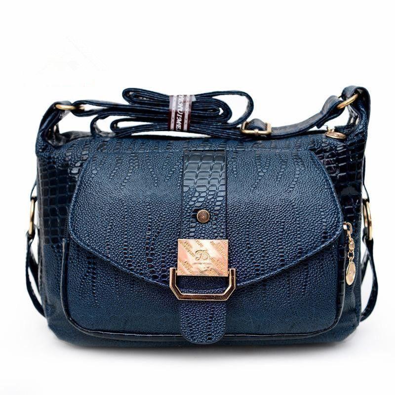 Lady PU Leather Shoulder Bag Women Handbags Bolsas Women Messager Bags 2018 New Fashion Mom Crossbody Bags By Just Follow