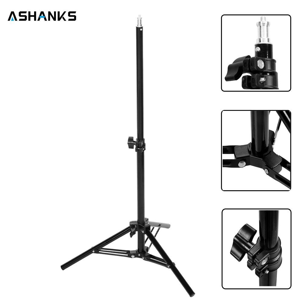 ASHANKS 65CM Light Stand Studio Lighting Lamp Tripod for Camera E27 Photo Studio Video Lamp Bracket Holder