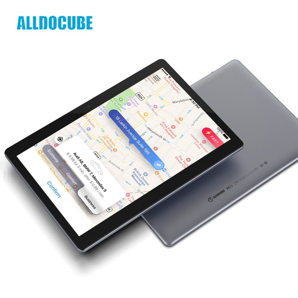ALLDOCUBE M5S Android 8.0 4G LTE 10.1 inch MTK X20 10 Core Phone Call Tablets PC 1920*1200 FHD IPS 3GB RAM 32GB ROM GPS Dual SIM