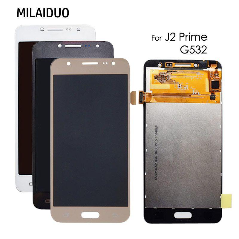 LCD Display Für Samsung Galaxy J2 Prime G532 SM-G532F G532M G532 Monitor Touch Screen Digitizer Montage Einstellbare Helligkeit