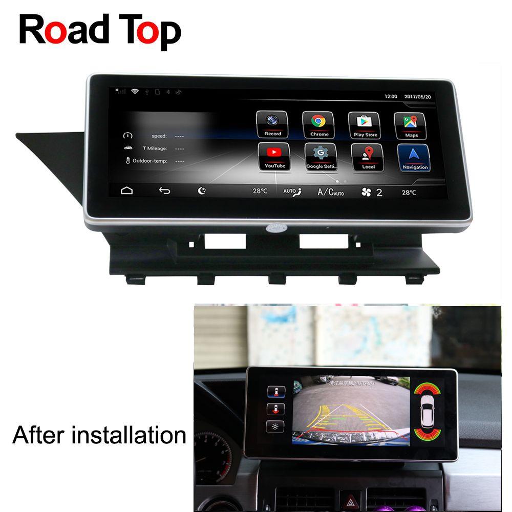 10.25 Android 7 Octa 8-Core CPU 2+32G Car Radio GPS Navigation Bluetooth WiFi Head Unit Screen for Mercedes Benz GLK 2008-2012