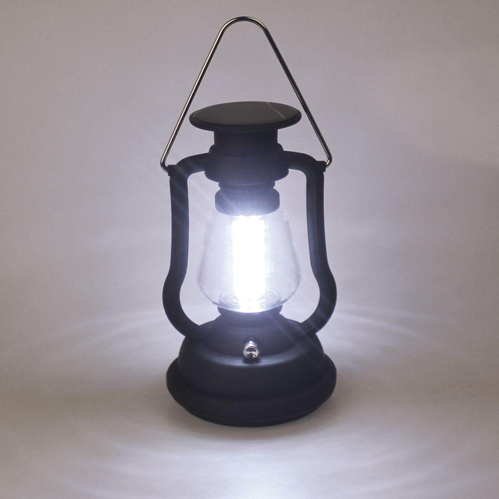Haute Qualité Super Lumineux Extérieur 16 LED Lumière Panneau Solaire Manivelle Dynamo Lampe Camping Lanterne