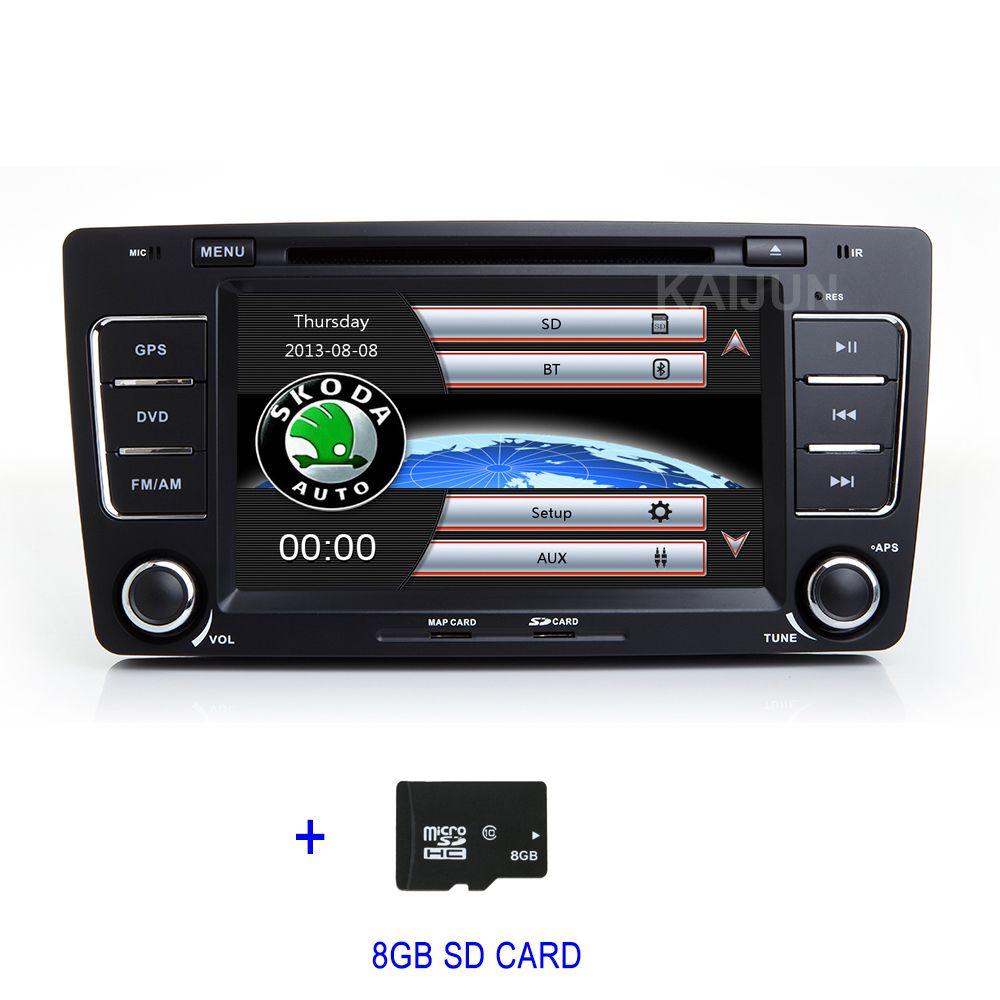 Car DVD Player GPS Radio for SKODA Octavia 2009-2013