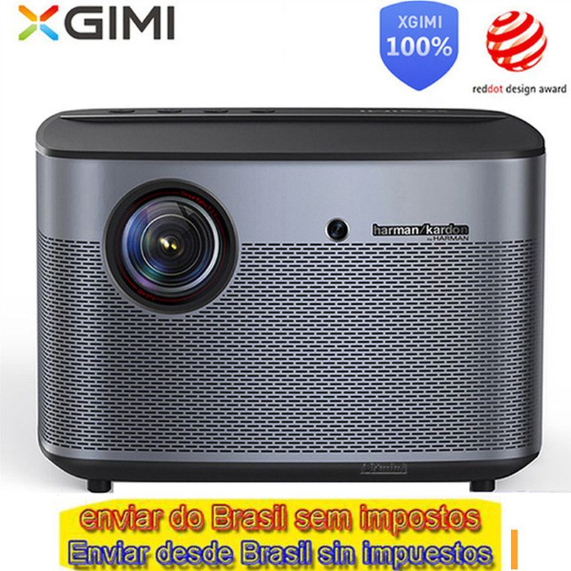 Internationale globale version XGIMI H2 DLP Projektor 1080 p Volle HD 3D 4 K Video Projektor Android tv Bluetooth Wifi heimkino