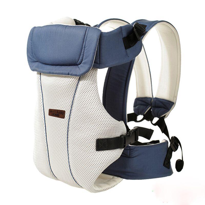 От 2 до 30 месяцев слинг дышащая эргономичный кенгуру спереди переноски детей кенгуру Детские Рюкзак мешок основы хип сиденья