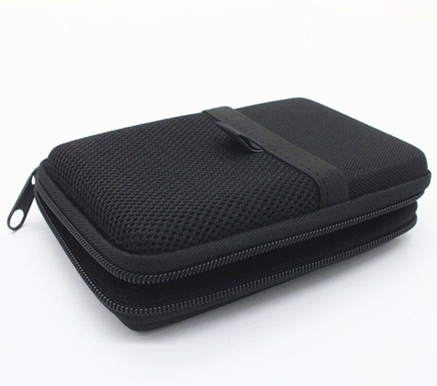 Headphone Case Bag Portable Bluetooth Earphone Earbuds Hard Box Storage for Memory Card USB Cable Headset accessories