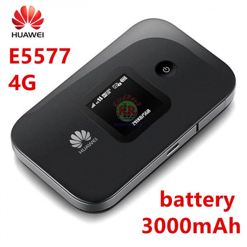 Huawei E5577 e5577s-321 3g 4g router hauwei tasche wifi hotspot 3000 mah Batterie 4g lte router pk huawei e5885
