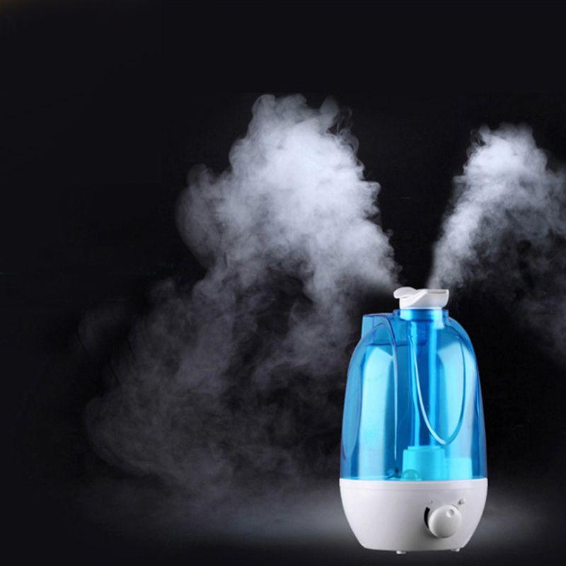4L Ultrasons Humidificateur D'air Mini Arôme Humidificateur Purificateur D'air avec LED Lampe Humidificateur Portable Diffuseur Mist Maker Fogger