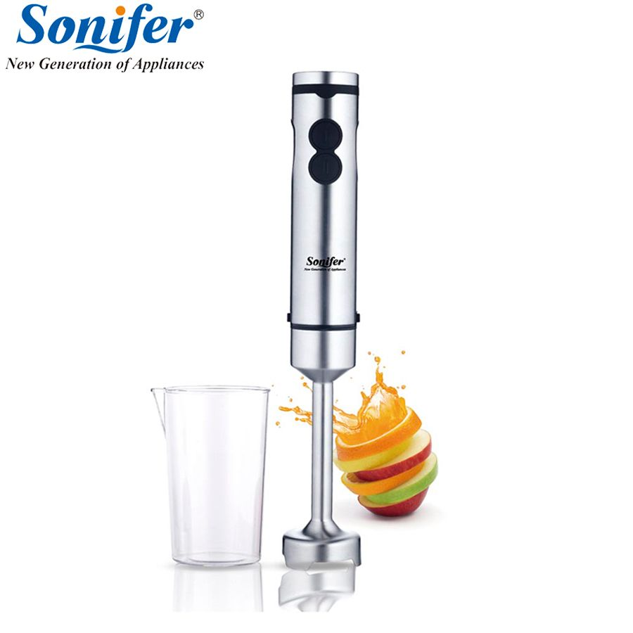5 speed high quality electric food hand blender stainless steel mixer kitchen detachable egg beater vegetable Sonifer